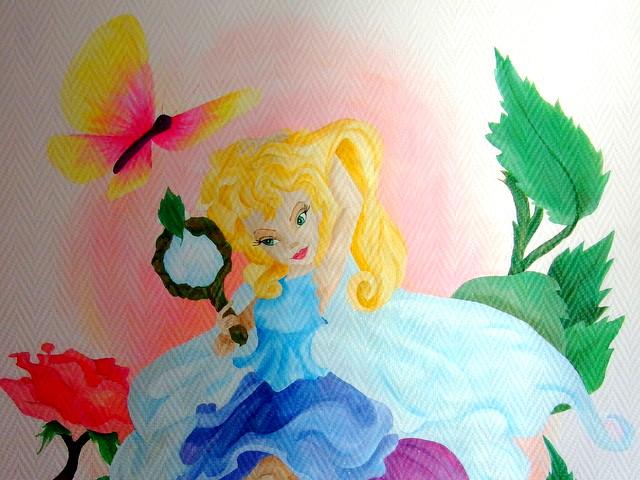 Prinsessen Decoratie Slaapkamer  Alle bedrijven fotobehang pagina