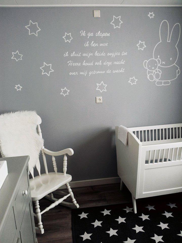 Stunning Nijntje Gordijnen Baby Ideas - Huis & Interieur Ideeën ...